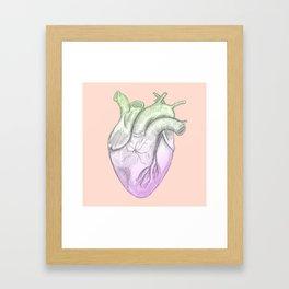 A joker at heart Framed Art Print