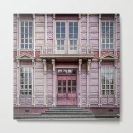 Pink school Metal Print