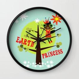 Earth Princess Wall Clock