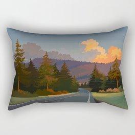 Golden Hour Rectangular Pillow