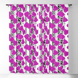 Holiday decor, holiday, Valentine's Day Blackout Curtain