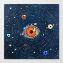 Galactic Eyes Canvas Print