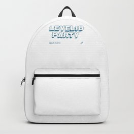 18th birthday guestbook birthday present Backpack