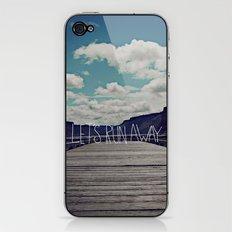 Let's Run Away: Detroit Lake, Oregon iPhone & iPod Skin