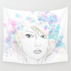 Beauty in Chaos Wall Tapestry