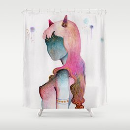 Star-Gazer Shower Curtain