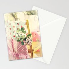 The apron Stationery Cards
