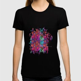 Abstract Paint Colors T-shirt