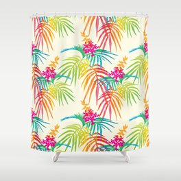 Bright Tropical Shower Curtain