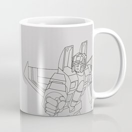 Starscream G1 grey Coffee Mug