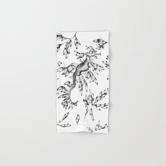 Camouflaged - the Sea Dragon Hand & Bath Towel