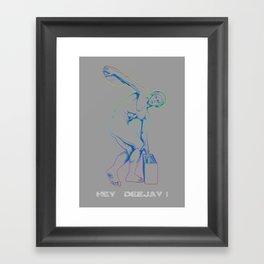 Diskobolo Framed Art Print