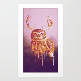 Owlope Art Print