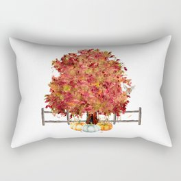 Woodland Autumn Rectangular Pillow