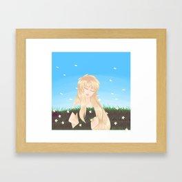 Euridice (Saint Seiya)  Framed Art Print