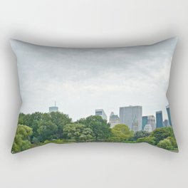 Sunday morning in Central Park NYC Rectangular Pillow