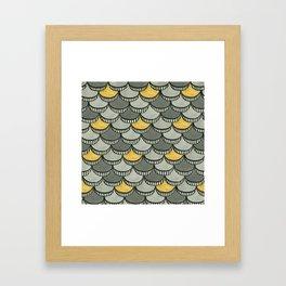 Deco Wafers Framed Art Print