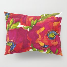 Bold Poppies Pillow Sham