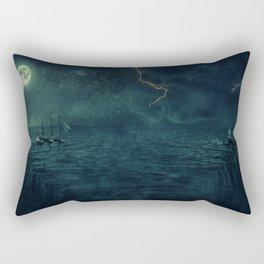 repetitive continuity Rectangular Pillow
