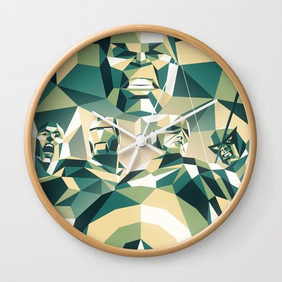 A Team Wall Clock