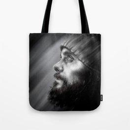Jared Leto | Monolith Tour Digital Portrait Tote Bag