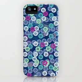 lil'buttons iPhone Case