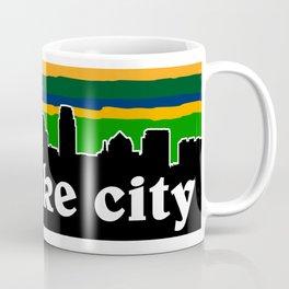 Salt Lake Cityscape Coffee Mug