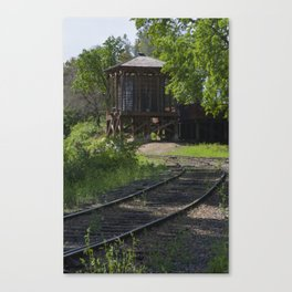The water tank Canvas Print