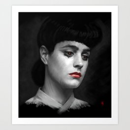 Rachel Blade Runner, I am the business Art Print