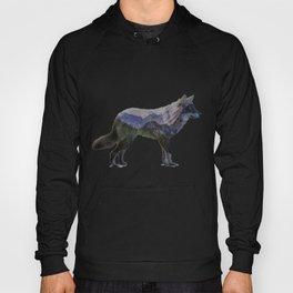 The Rocky Mountain Gray Wolf Hoody