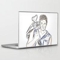 daryl Laptop & iPad Skins featuring Daryl Dixon by Salina Ayala