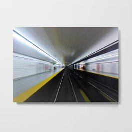 Speed No 3 Metal Print