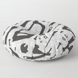 Tools Pattern Floor Pillow