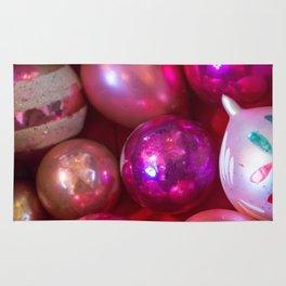 Pink Christmas Rug