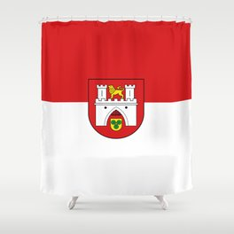 flag of Hanover or Hannover Shower Curtain