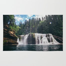 Lower Lewis River Falls Rug