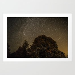 Starry Night Sky 2 Art Print