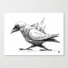 Raven City Canvas Print