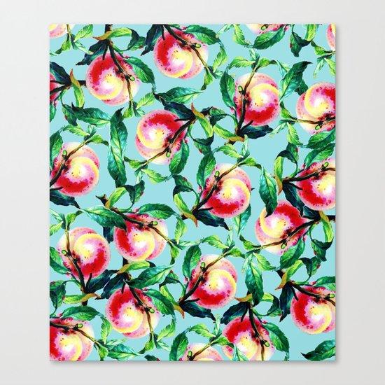 Peachy #society6 #decor #buyart Canvas Print