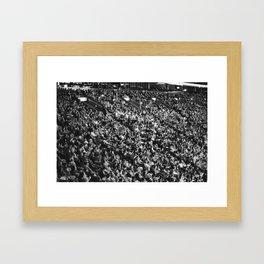 Exhibition Game Framed Art Print