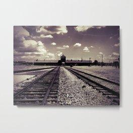 Auschwitz Birkenau Metal Print