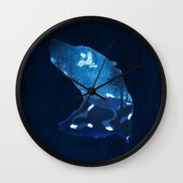 Moon Badgers Wall Clock