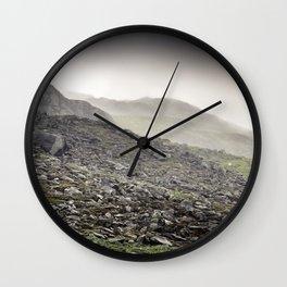 Welsh Hills of Snowdonia Wall Clock