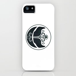 Odin's Ravens (Memory and Thought) iPhone Case