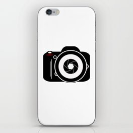 Camera for Photographer iPhone Skin
