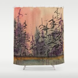 Untitled Reflections Shower Curtain
