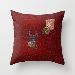 The Old Apartment II Throw Pillow