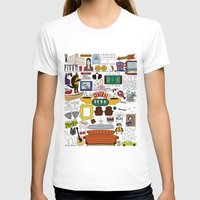 indonesia T-shirts featuring Collage by Loverly Prints