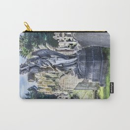 Cemetery Headstone Carry-All Pouch
