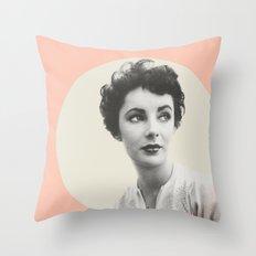 My Elizabeth Taylor Throw Pillow